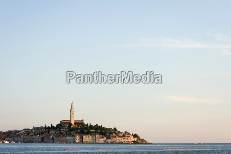 town of rovinj on adriatic coast