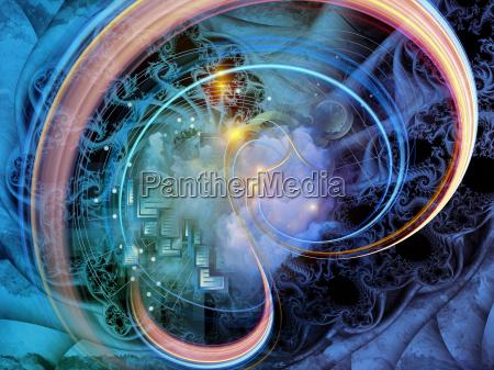 fractal mechanics arrangement