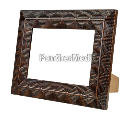 decorative bronze empty picture frame
