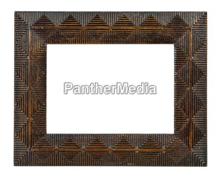 decorative bronze empty picture frame