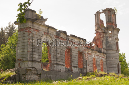 ruin of a villa