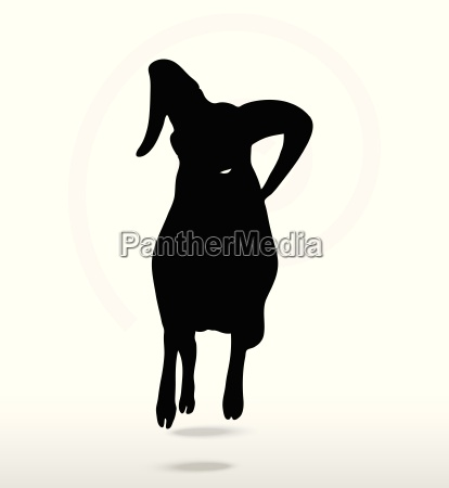 big horn sheep silhouette in