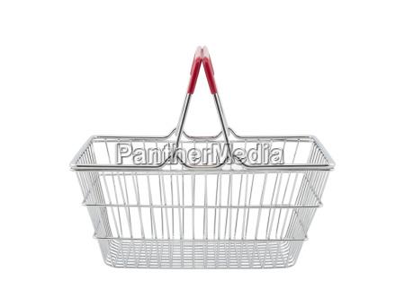 shopping basket isolated on white background