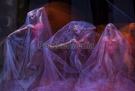 sensual and emotional dance of beautiful