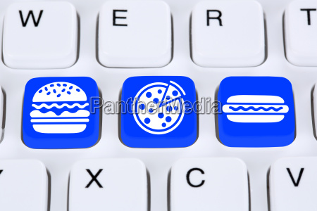 pizza hamburger fast food online order