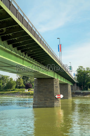 the bridge over the rhine at