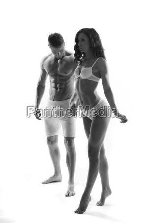 beautiful passionate couple