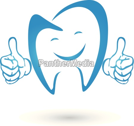 teeth with hands logo smile teeth