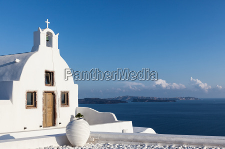 small, chapel, in, oia - 14375937