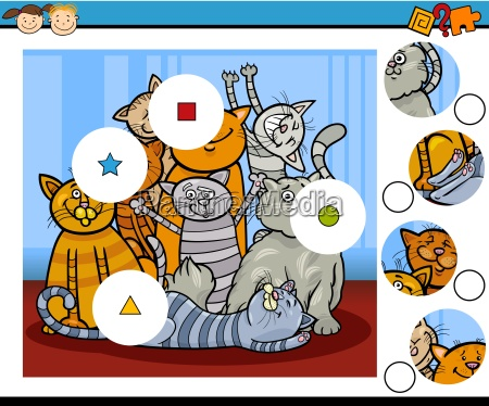 match pieces education game