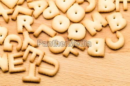 alphabet cookie