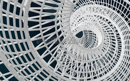 white structure abstract background