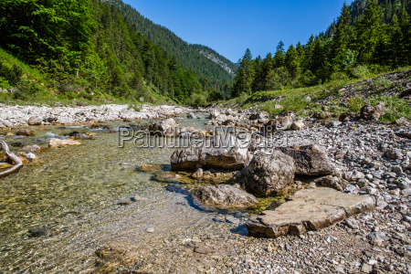 river in the tyrolean alps