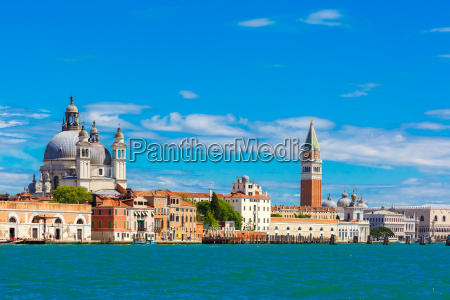 view from the sea to venice