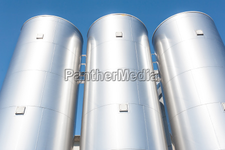 chemical plant containers
