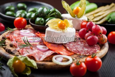 appetizers platter