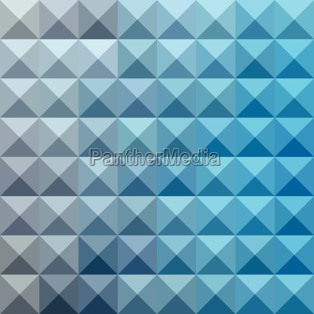 bright cerulean blue abstract low polygon