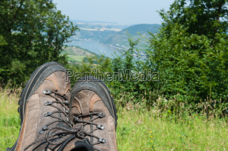 hiking in the middle rhine valley
