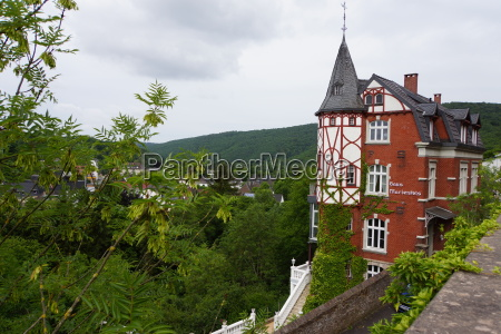 view on gemuend at the eifel