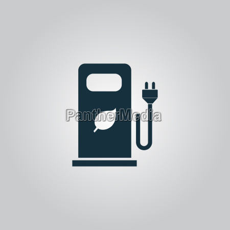 electric car charging station or bio