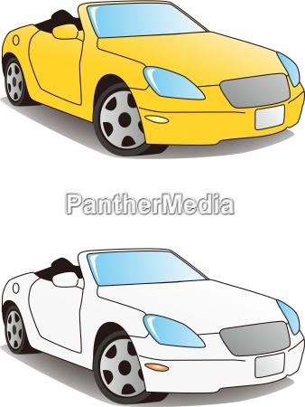 sports car convertible
