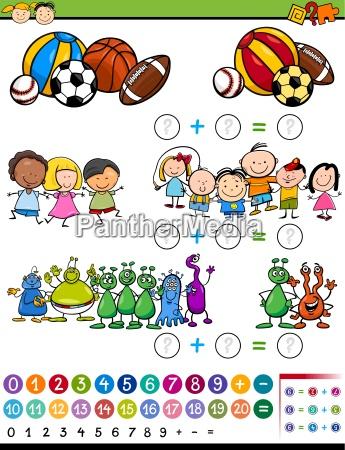 educational, game, cartoon, illustration - 14480671