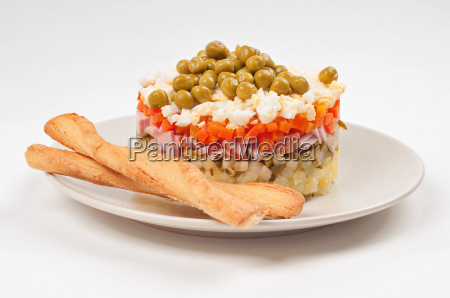 potato olivier or russian salad