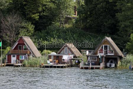 boathouses in schwerin