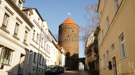 old tower in saxony