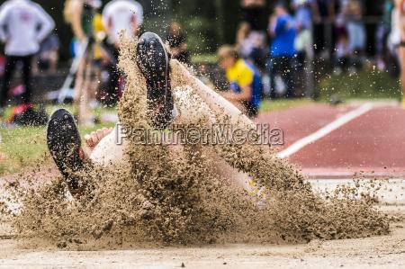 jumping in athletics