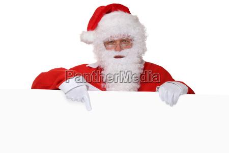 santa claus santa claus with beard