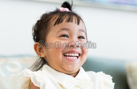cute girl smile