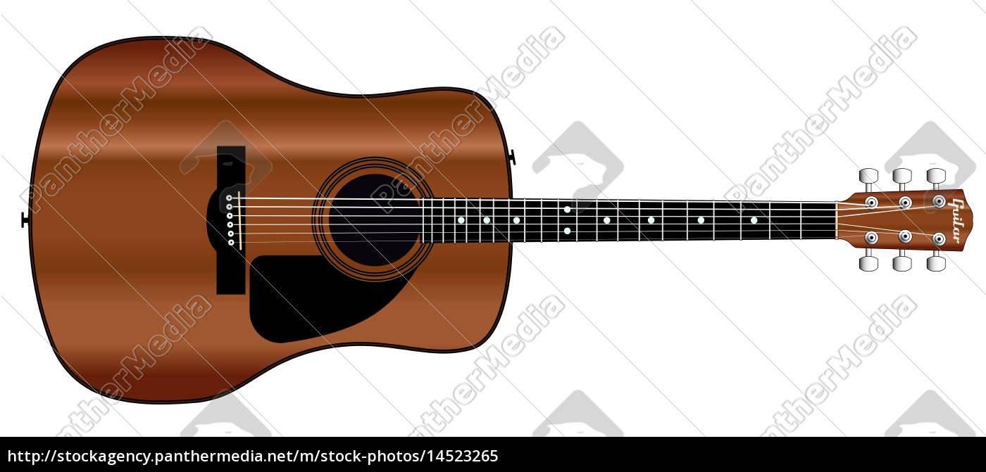 acoustic, guitar - 14523265