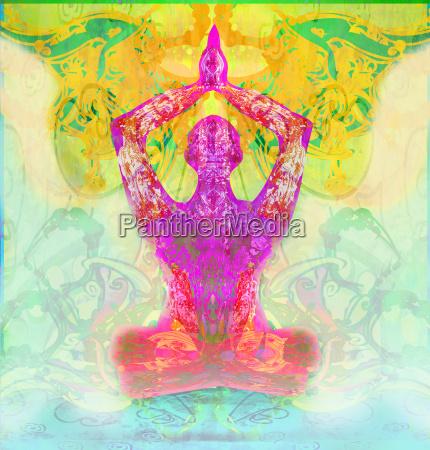 men in meditation