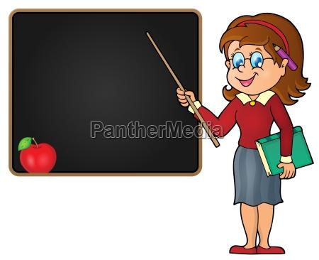 woman teacher theme image 2