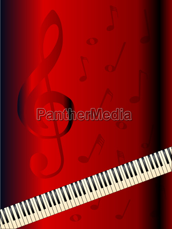 old piano background