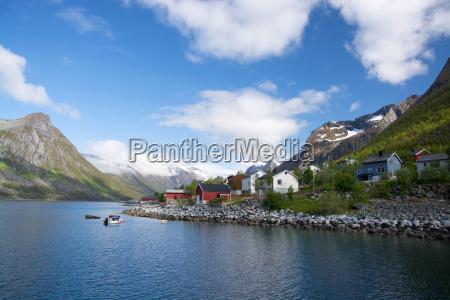 gryllefjord senja norway