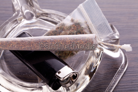 cannabis marijuana with water whistle and