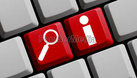 online search for information