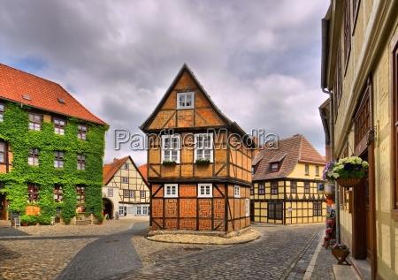 quedlinburg old town qedlinburg old