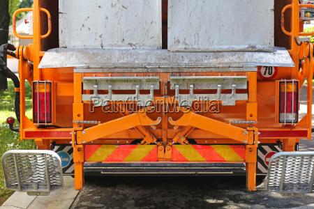 waste collection loader