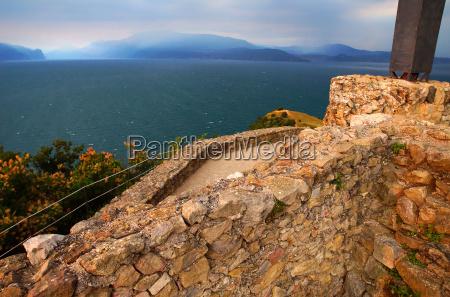 great fort at the lake garda