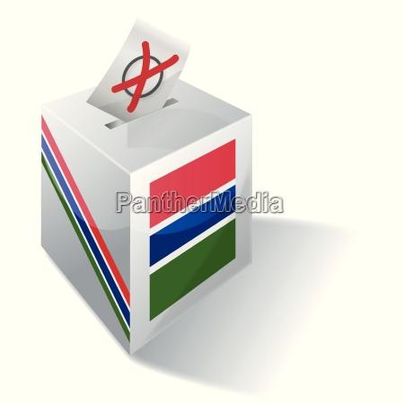 selection box gambia