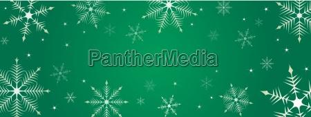 christmas snowflake background illustration