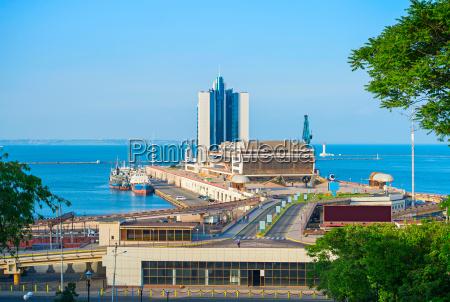 sea terminal in odessa ukraine