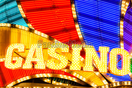 neon casino sign lit up at
