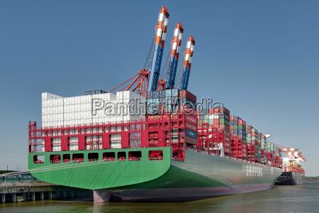 19000 teu class ship