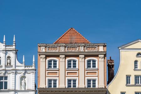 historical buildings in rostock