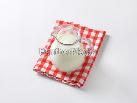 jug of fresh milk