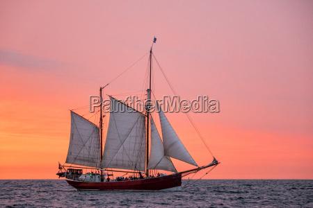 sailing ship on the hansesail